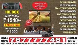 NEW DTH BUY Airtel DishTV HD SMART BOX Airtel Xstram box book now