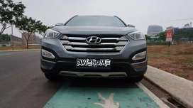Hyundai SantaFee Diesel AT 2012, Abu Abu, Ganteng abizz