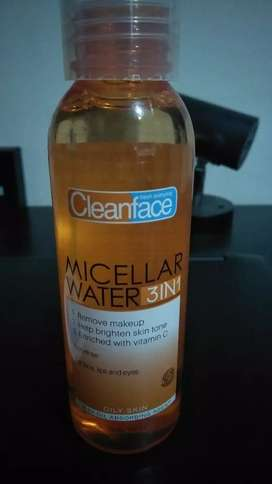 Clean face Purbasari Micellar Water