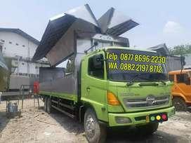 Truk/truck 10roda Hino FL235JW 2012 wingbox 9,5m sgt terawat istimewa