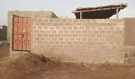 Quetta town 3A old file..  boundary wall plot.