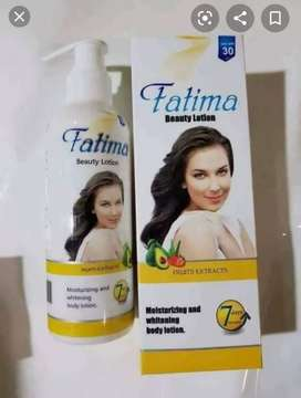 Fatima beauty lotion by handsome