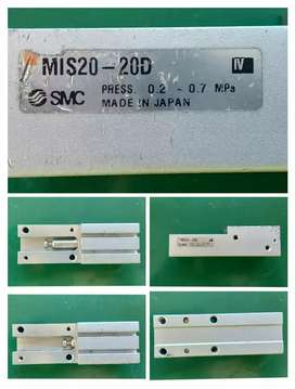 SMC PNEUMATIC SLIDE GUIDED MIS20 - 20D