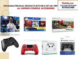 PS4 ,  New with invoice , Wholesale prices all products 40 To 80 %off