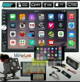 Double Din Mp5 Suport Hp Android / Mirorlink