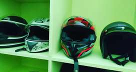 3 helmets are sale used single owner