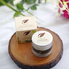 Cofee Kefir Mask SR12/ Masker Herbal Ampuh atasi flek Hitam
