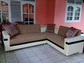 Sofa home made model sudut