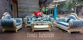 Sofa model mangkuk kursi jok artis