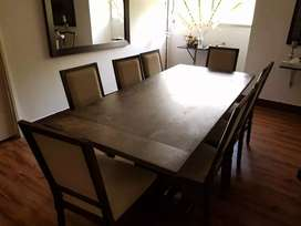 Imported Malaysian wood Dining Table