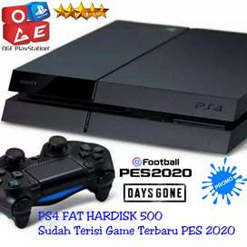 Ps4 Fat versi Tinggi Hardis 500GB Bonus Game Digital
