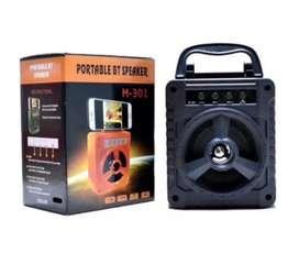 Speaker bluetooth portabel bentuk koper type M-301
