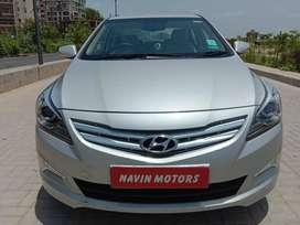 Hyundai Verna Fluidic 1.6 VTVT SX, 2016, Petrol