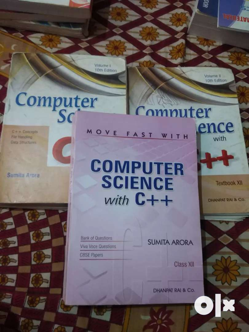 Class 11 and Class 12 Computer Science Books 0