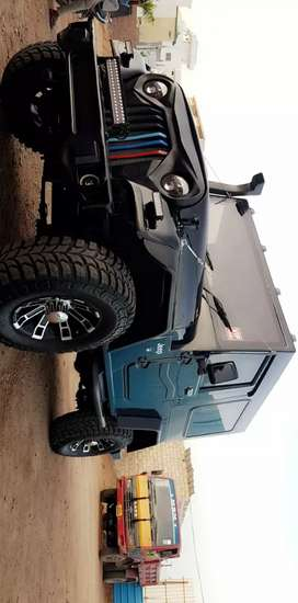 Mahindra thar fully modified good condition first owner