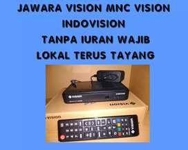Indovision mnc vision TANPA IURAN BULANAN by graha parabola