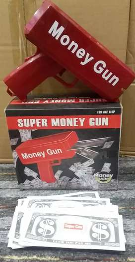 Auto currency notes flying gun