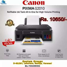 Canon 2010 tank all in one printer new1year warranty free installation