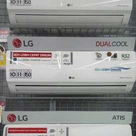 Dijual Kredit AC LG Inverter