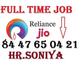 Reliance Jio required male candidates for all posts. Apply Now Only ik