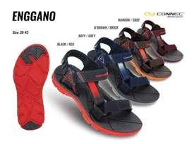 CONNEC ENGGANO Sepatu Sendal Sandal Gunung Hiking Pria Cowok Termurah
