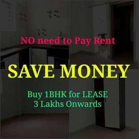 For LEASE 3 Lakhs Onwards 1BHK Semi Furnished Bommanahalli Location