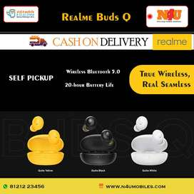 realme Buds Q in-Ear True Wireless Earbuds available at N4U mobiles