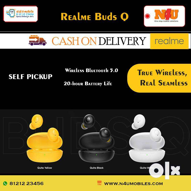 realme Buds Q in-Ear True Wireless Earbuds available at N4U mobiles 0