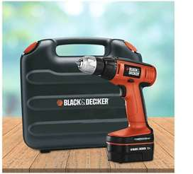 New sealed pack black & decker cordless drill RS.2799