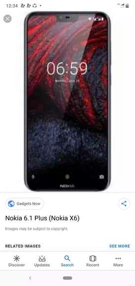 Nokia 6.1 plus 9 month old