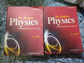 New simplified PHYSICS volume- 1and2
