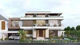 Jasa Arsitek Jakarta Utara Desain Rumah 766m2 - Emporio Architect