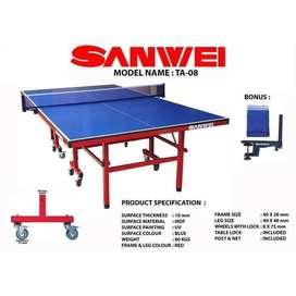 Tenis Meja Pingpong SANWEI TA 08 Table Tennis Original