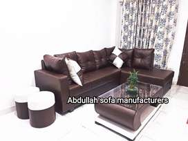 Brand new L shaped sofa set  direct  from factory at lowest prices