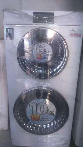 Mesin cuci aqua double drum FQW-1600TD