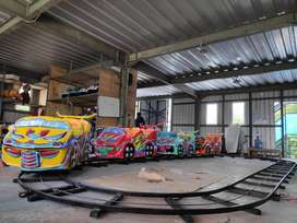 jaul wahana odong kereta lantai rumah balon mincoaster ADD