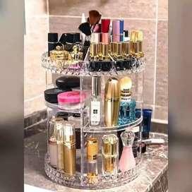 rak kosmetik bisa diputar