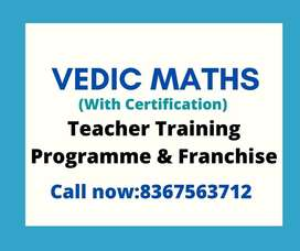 Learn & Earn Vedic Maths Teacher Training and Franchise