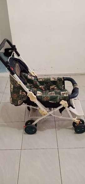 Stroller bayi dorong & tidur bekas masih bagus & terawat