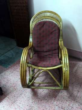 Bamboo easy chair in good condition