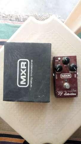 Dunlop MXR 78 distortion