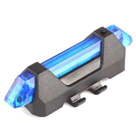 Lampu Sepeda 5 LED Taillight Rechargeable