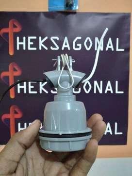 Fitting Lampu Jalan Gantung Keramik bpn