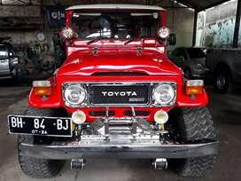 Toyota Hardtop BJ40 1984 asli diesel Nopol BH (Jambi)