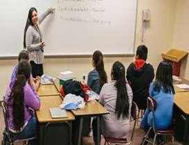 Maths teacher for job