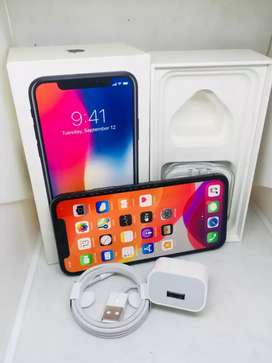 APPLE IPHONE X 256GB AVAILABLE EXCELLENT CONDITION WITH WARRANTY