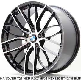 Velg Mobil Hanover Ring 20  BMW  1, 2, 3, 4 cicilan 0%