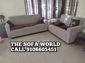 Brand New 5 seater gray sectional sofa aet