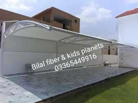 Tensile Fabric shades and windows