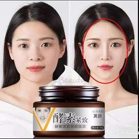 Cream tirus/v-shape cream
